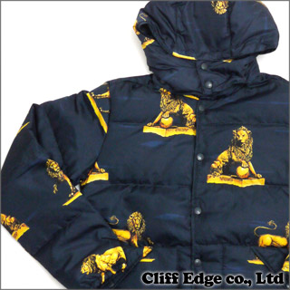 SUPREME Lions Puffy Jacket (down jacket) NAVY 226 - 000159 - 037x