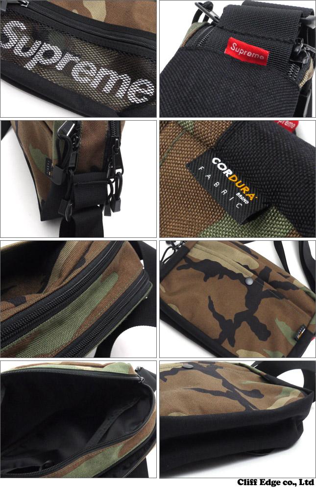 SUPREME Logo Shoulder Bag (숄더백) 275-000000-011x