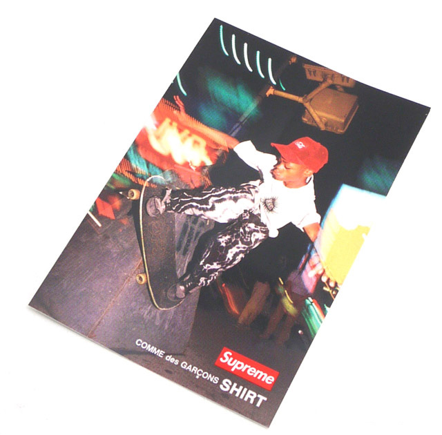 SUPREME (슈 프림) x COMME des GARCONS SHIRT (컴 드 르 손 셔츠) Harold Hunter PHOTO Sticker (스티커) MULTI 290-002972-019 +