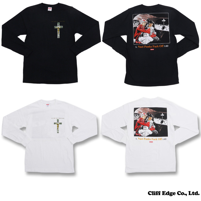 SUPREME God Kennedys x In Dead We Trust L/S TEE (긴 소매 T-셔츠) 202-000660-030 +