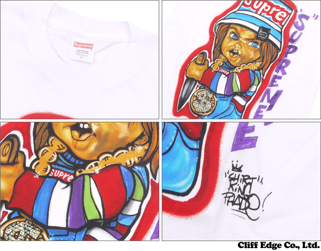 SUPREME Forty Deuce TEE(T셔츠) WHITE 200-006104-030+