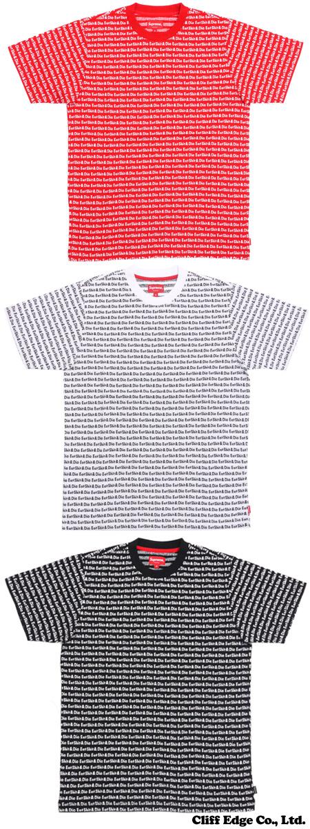SUPREME ESD JACQUARD TOP (쟈 가드 T 셔츠) 200-006240-033x