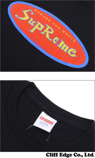 SUPREME(슈프림) MURDER SHE WROTE TEE (T셔츠) 200-006297-000 x