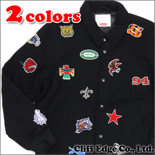 SUPREME(shupurimu)Franchise Varsity Jacket(茄克)227-000083-041x