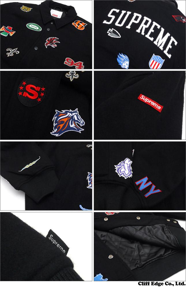 SUPREME (슈 프림) Franchise Varsity Jacket (재킷) 227-000083-041x