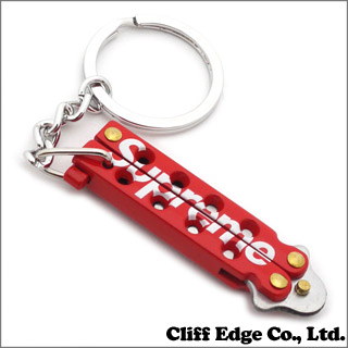SUPREME Mini Butterfly Knife RED 290 - 003347 - 013x