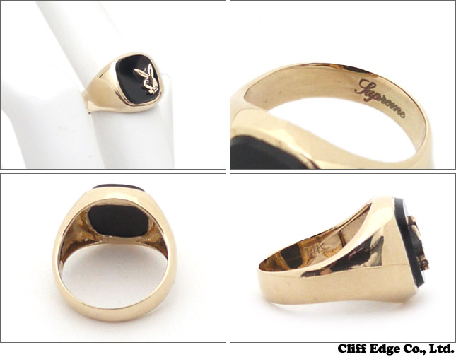 Top Cliff Edge | Rakuten Global Market: SUPREME Playboy Gold Ring GOLD  VL66