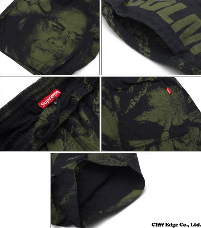 SUPREME (슈 프림) Malcolm X Short (반바지) BLACK 244-000615-041 +