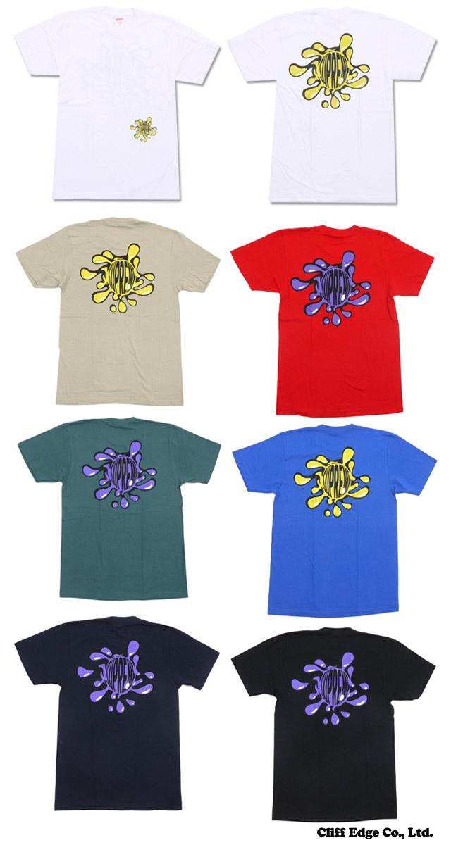 SUPREME (슈 프림) Splat Tee (T 셔츠) 200-006686-044 +