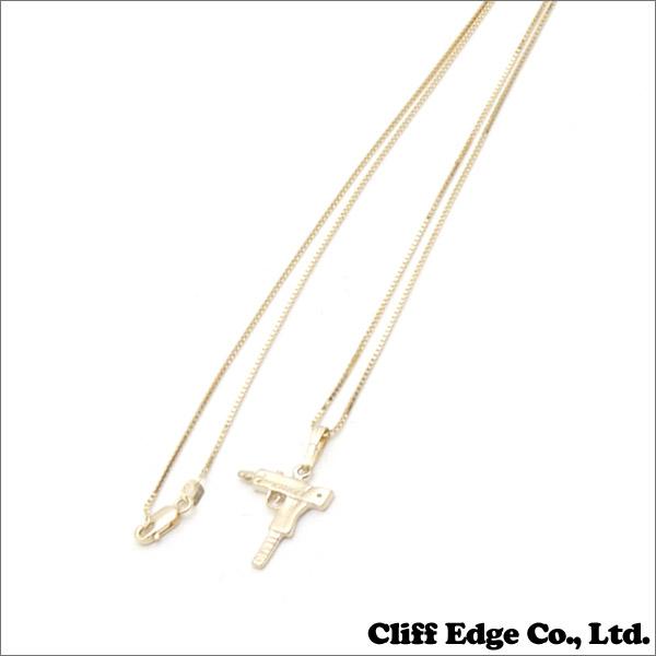 SUPREME (슈 프림) Uzi Gold Pendant (목걸이) GOLD 267-000191-018 +