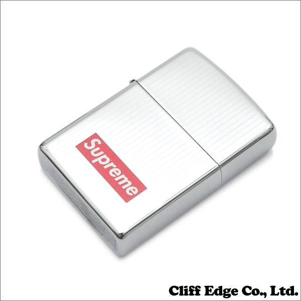 SUPREME Engraved Zippo (Zippo) + 290-003571-012 SILVER