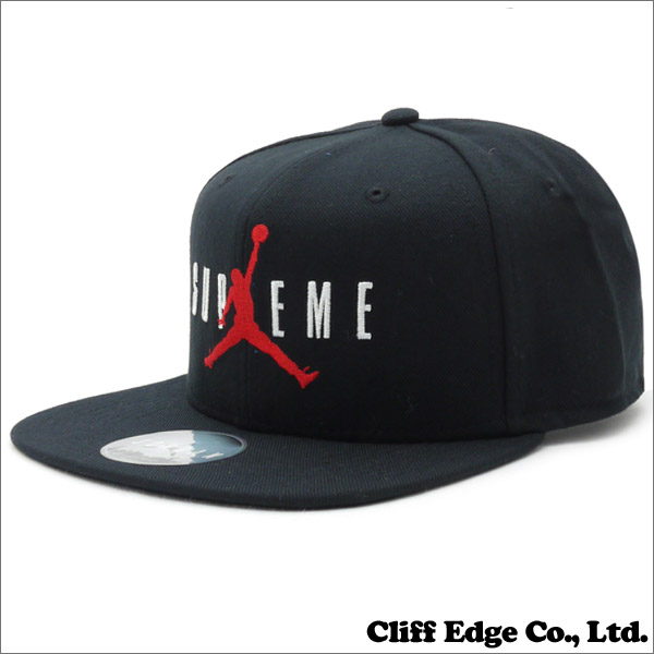 Cliff Edge  SUPREME x Jordan BrandJordan 6-Panel Cap + 265-000595 ... 8ad803dd833