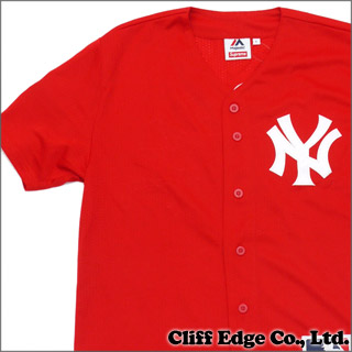 pretty nice 4ee5a 62c86 real red new york yankees jersey 067e7 11d48