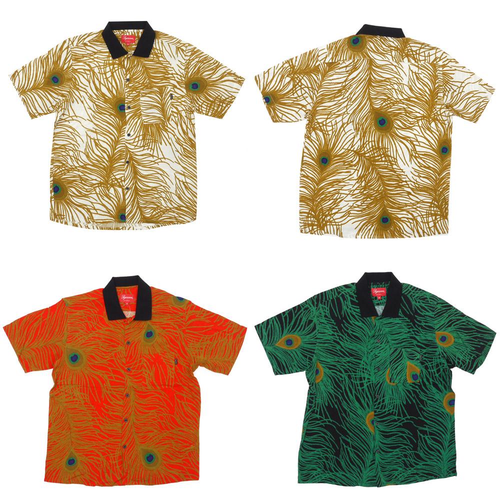 SUPREME Peacock Shirt (short sleeve shirt) 215-001236-041 +