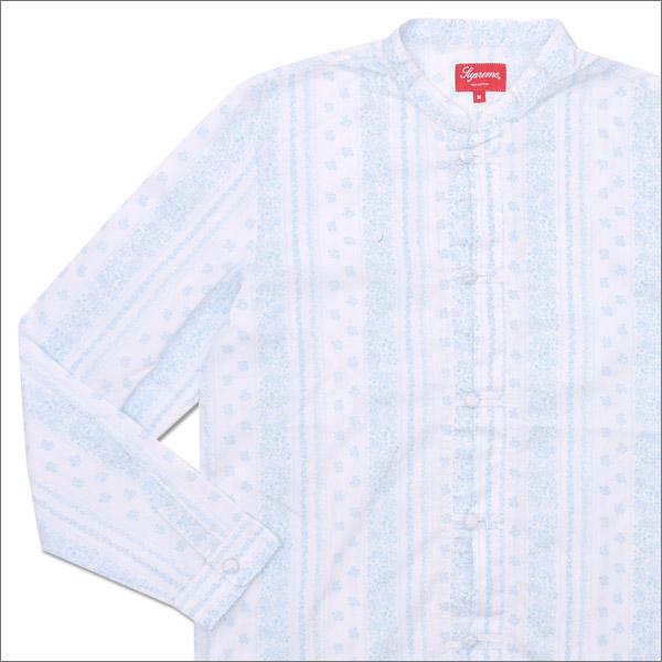 SUPREME(シュプリーム) Toggle Band Collar Shirt (長袖シャツ) WHITE 216-001402-140+【新品】