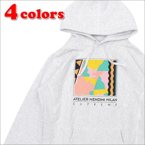 SUPREME(シュプリーム) Mendini Hooded Sweatshirt (スウェットパーカー) 211-000418-051+【新品】