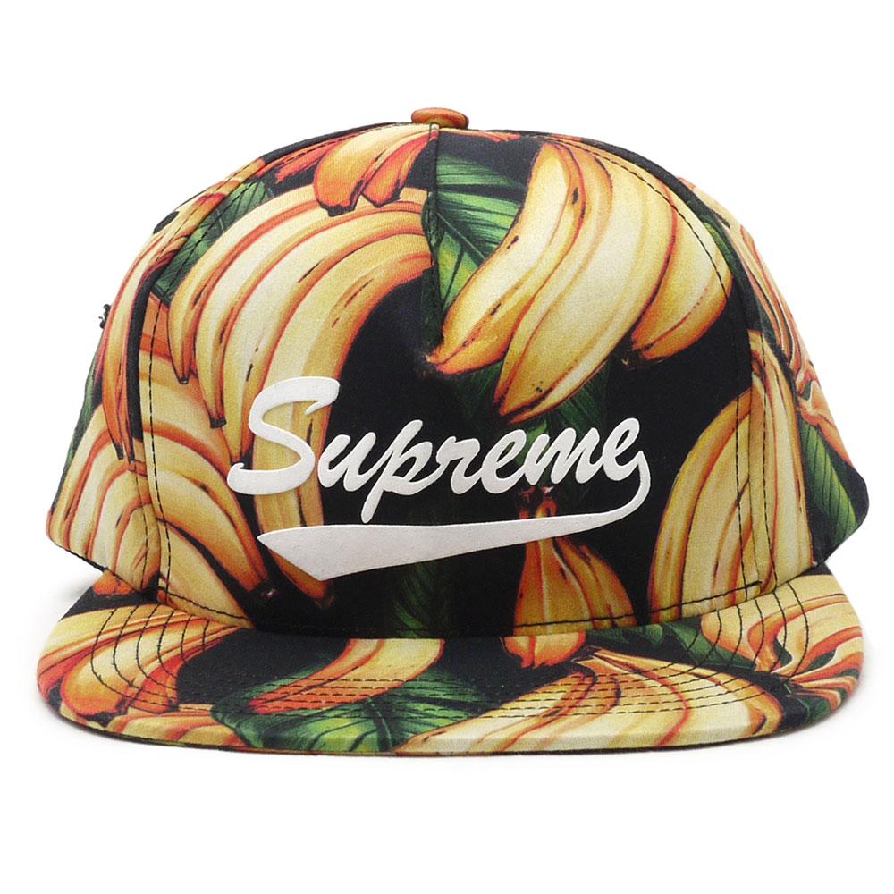 SUPREME(シュプリーム)Banana5-Panel(5パネルキャップ)250-000379- 52cb7b42879