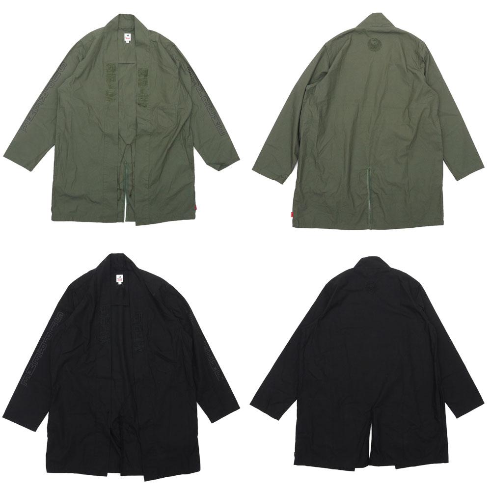 SUPREME (슈 프림) x Sasquatchfabrix. (サスクワァッチファブリックス) Hanten Coat (코트) (재킷) 228-000141-055 +