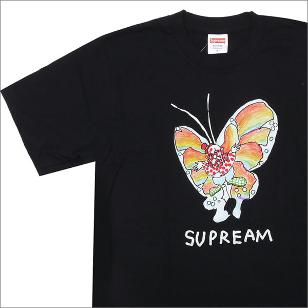 12b7e4e661dc Cliff Edge: SUPREME 200-006911-161 BLACK Gonz Butterfly Tee (T shirt ...
