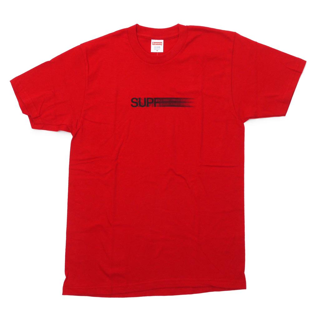 SUPREME (슈 프림) Motion Logo Tee (모션 로고) (T 셔츠) RED 200-006910-143 +