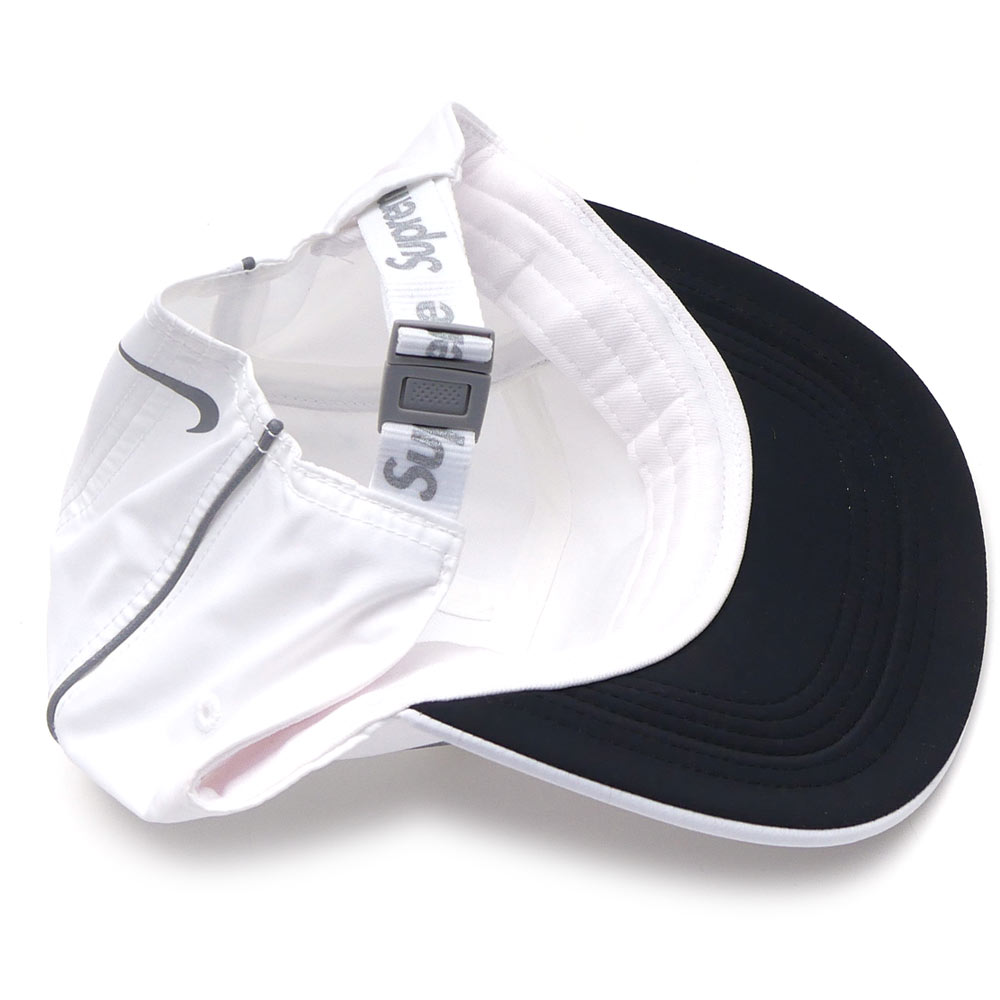 460082967a9 NIKE x SUPREME 265-000673-110 WHITE Nike Air Max Running Hat (back strap) +  (Air Max 98) (sneakers) (shoes)