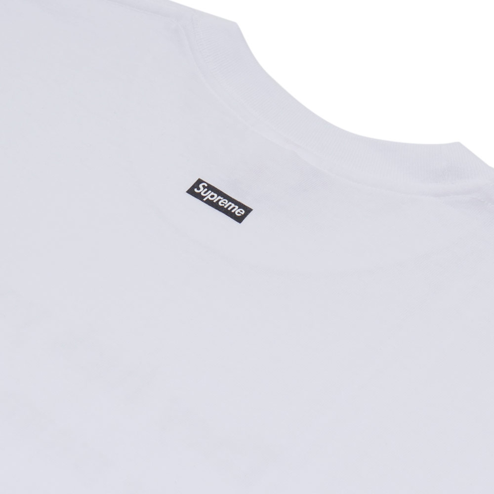 SUPREME They Fuck You Up Tee (T shirt) + 200-007160-040 WHITE
