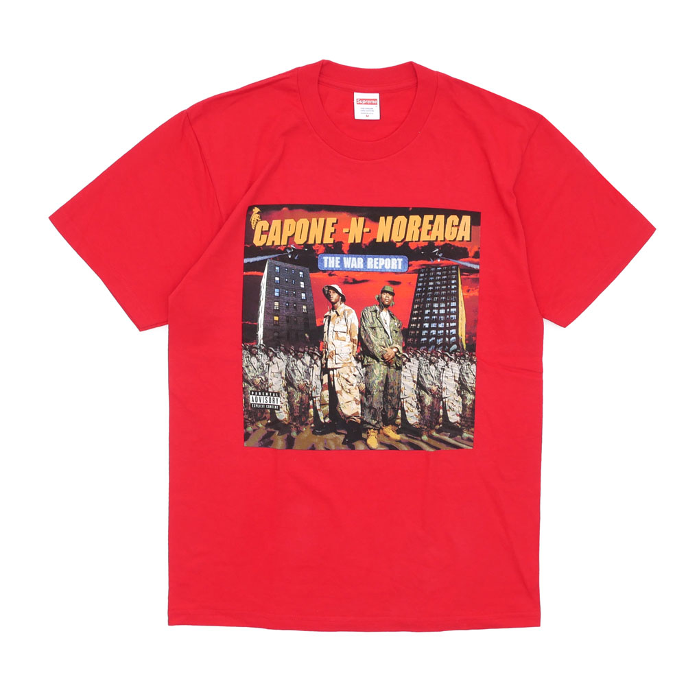 SUPREME The War Report Tee (box logo) (T shirt) RED 200-007167-143 d.