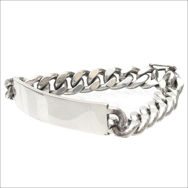 【合計15,000円(税抜)以上のお買い上げでステッカープレゼント!】 SUPREME(シュプリーム) Silver I.D. Bracelet (ブレスレット) SILVER 269-000326-012+【新品】