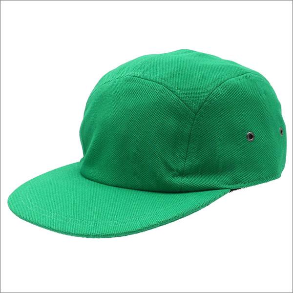 [次回のお買い物で使える500円OFFクーポン配布中!! 4/30(火)まで!!] SUPREME(シュプリーム) Pique Camp Cap (キャンプキャップ) KELLY GREEN 265-000824-115+【新品】