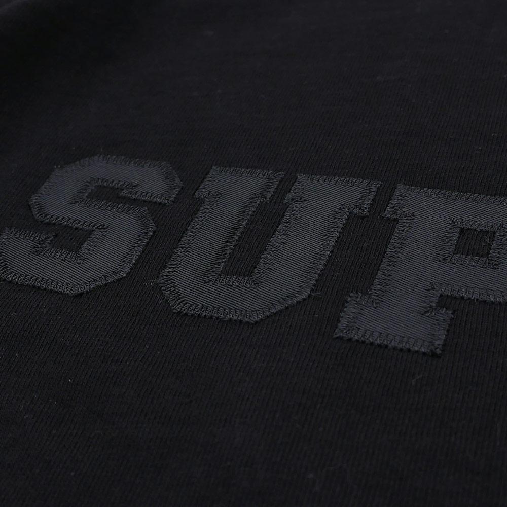 SUPREME(슈프림) Collegiate Logo Tee (T셔츠) BLACK 203-000235-051+