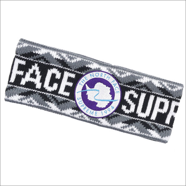 シュプリーム SUPREME x THE NORTH FACE ザ・ノースフェイス Trans Antarctica Expedition Headband ヘッドバンド BLACK 290004275111 【新品】