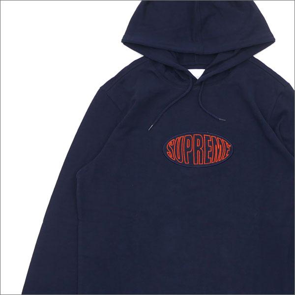 SUPREME Warp Hooded L/S Top (parka) NAVY 211-000483-057+
