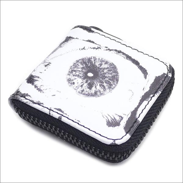 【合計15,000円(税抜)以上のお買い上げでステッカープレゼント!】 SUPREME(シュプリーム) x COMME des GARCONS SHIRT(コムデギャルソン シャツ) Eyes Coin Pouch (コインケース) WHITE 272-000160-110+【新品】