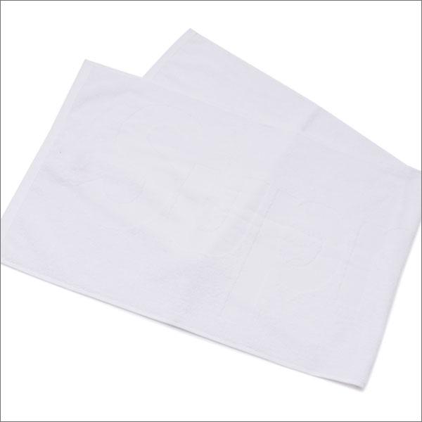 【合計15,000円(税抜)以上のお買い上げでステッカープレゼント!】 SUPREME(シュプリーム) Terry Logo Hand Towel (タオル) WHITE 290-004331-010+【新品】