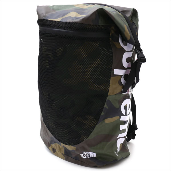 9bec7bc5c9 SUPREME x THE NORTH FACE Waterproof Backpack WOODLAND CAMO 276-000260-115+  ...