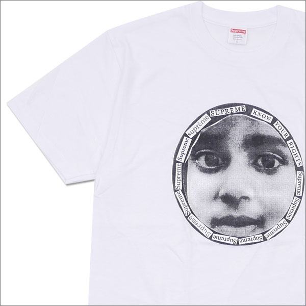 SUPREME(shupurimu)Know Your Rights Tee(T恤)WHITE 200-007500-050+