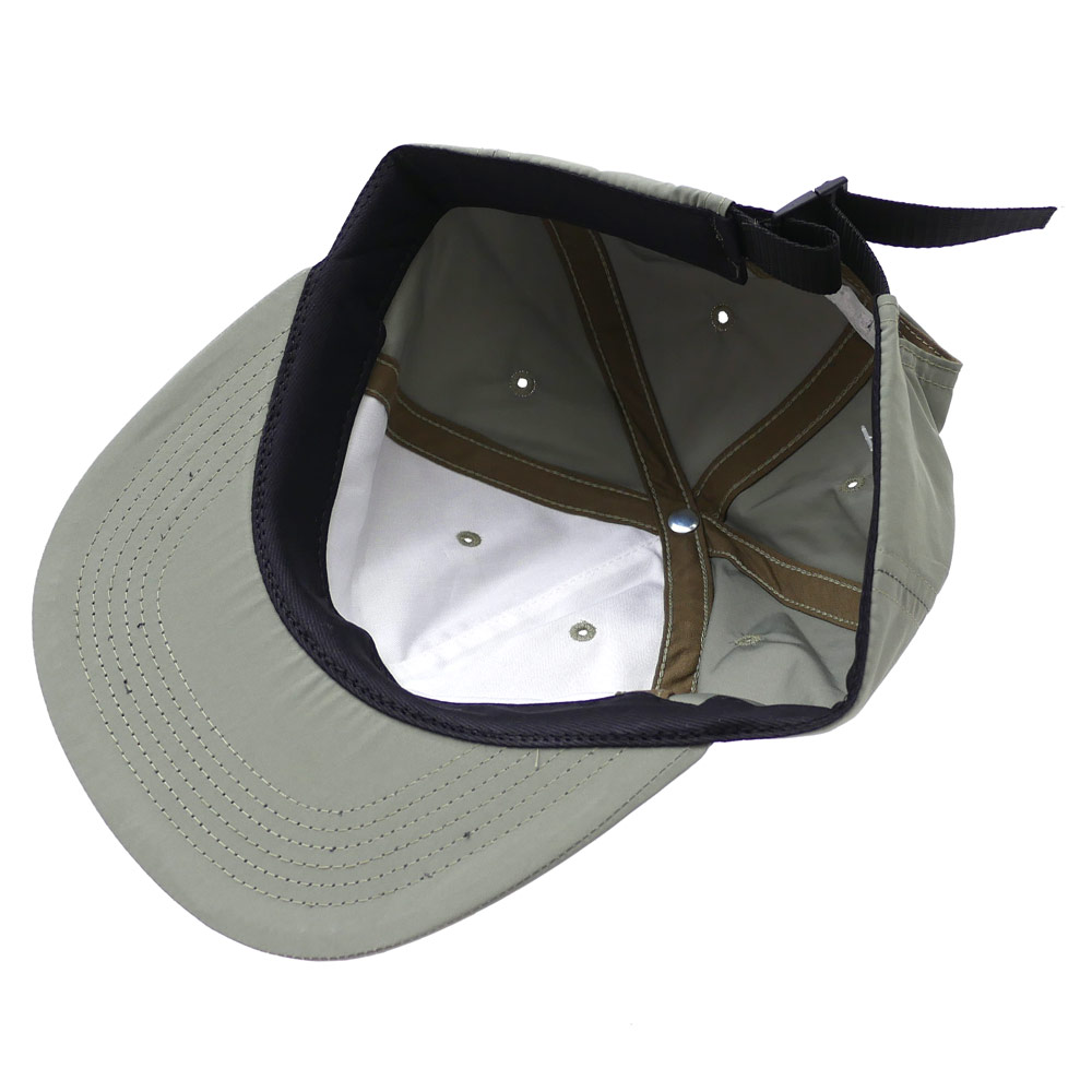 483fb7e3bca Cliff Edge  SUPREME Chrome Stripe 6-Panel (6 panel caps) OLIVE 265 ...