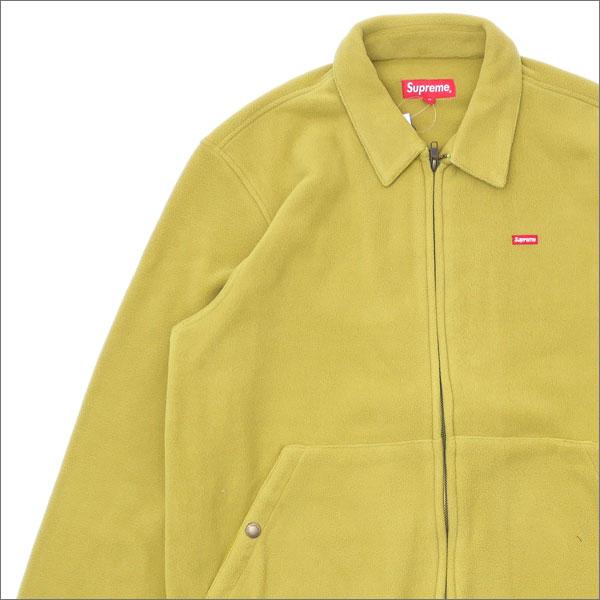 【合計15,000円(税抜)以上のお買い上げでステッカープレゼント!】 SUPREME(シュプリーム) Polartec Harrington Jacket (ジャケット) SULPHUR 230-001030-045+【新品】