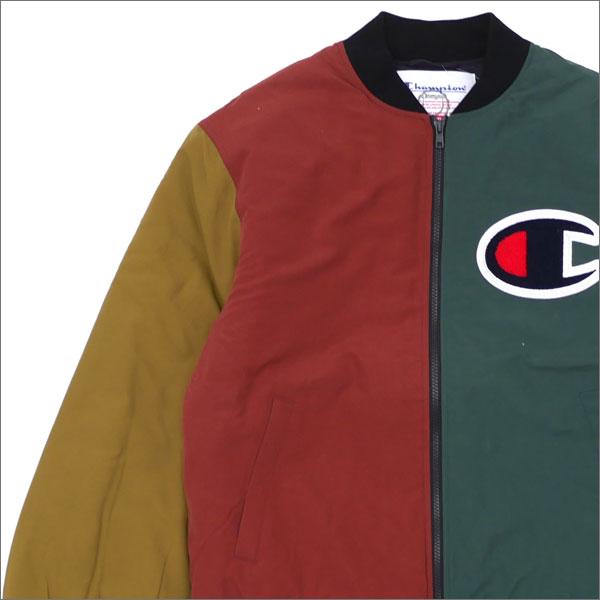 【合計15,000円(税抜)以上のお買い上げでステッカープレゼント!】 SUPREME(シュプリーム) Champion Color Blocked Jacket (ジャケット) MULTI 230-001048-049 130-002967-059+【新品】