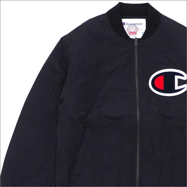 SUPREME(シュプリーム) Champion Color Blocked Jacket (ジャケット) BLACK 230-001048-041+【新品】
