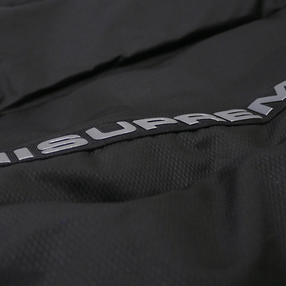 2617a7ca ... 슈프림 SUPREME Reflective Sleeve Logo Puffy Jacket 다운 재킷 BLACK  226000196141 ...