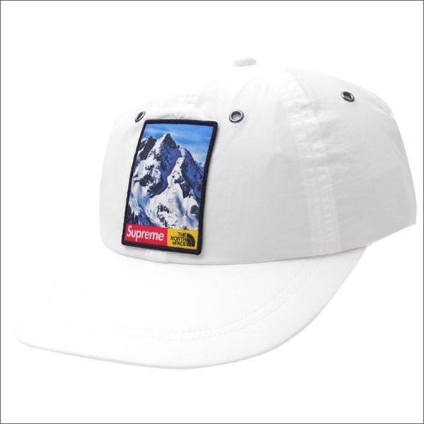 【合計15,000円(税抜)以上のお買い上げでステッカープレゼント!】 SUPREME(シュプリーム) x THE NORTH FACE(ザ・ノースフェイス) Mountain 6-Panel Hat (6パネルキャップ) WHITE 265-000964-110+【新品】