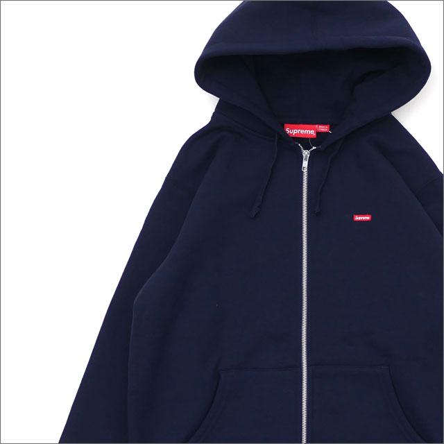 シュプリーム SUPREME Small Box Zip Up Sweatshirt スウェットパーカー NAVY 212001014037 【新品】