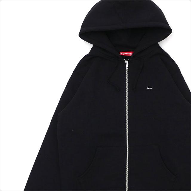 【合計15,000円(税抜)以上のお買い上げでステッカープレゼント!】 SUPREME(シュプリーム) Small Box Zip Up Sweatshirt (スウェットパーカー) BLACK 212-001014-031+【新品】