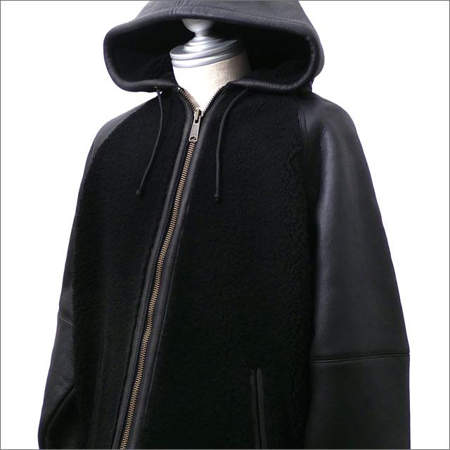【7/6(金) 20:00~7/20(金) 23:59までポイント5倍!!】 SUPREME(シュプリーム) Reversed Shearling Hooded Jacket (ジャケット) BLACK 418-000113-031+【新品】