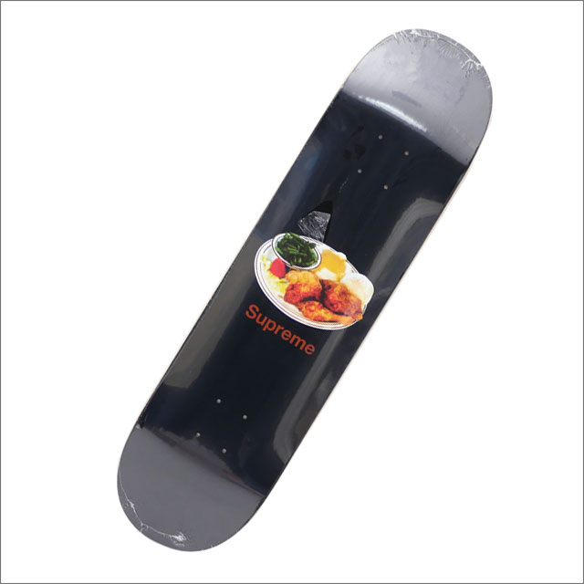 【合計15,000円(税抜)以上のお買い上げでステッカープレゼント!】 SUPREME(シュプリーム) Chicken Dinner Skateboard (スケートボードデッキ) BLACK 290-004607-011+【新品】