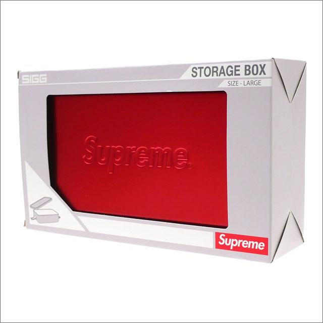 [次回のお買い物で使える500円OFFクーポン配布中!! 4/30(火)まで!!] シュプリーム SUPREME SIGG Large Metal Box Plus コンテナ アルミボックス RED 290004610013 【新品】