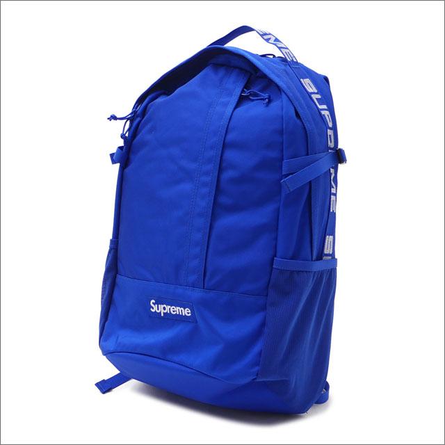 【合計15,000円(税抜)以上のお買い上げでステッカープレゼント!】 SUPREME(シュプリーム) Backpack (バックパック) ROYAL 276-000281-014+【新品】