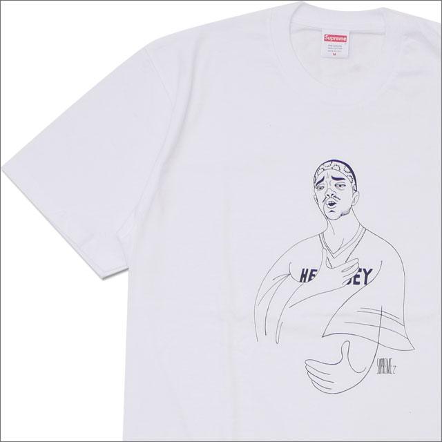 【合計15,000円(税抜)以上のお買い上げでステッカープレゼント!】 SUPREME(シュプリーム) Prodigy Tee (Tシャツ) WHITE 200-007754-040+【新品】