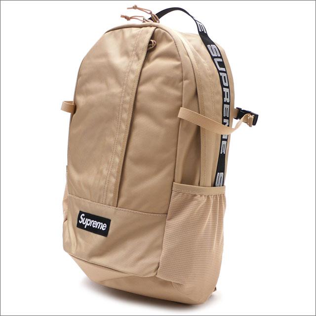 【合計15,000円(税抜)以上のお買い上げでステッカープレゼント!】 SUPREME(シュプリーム) Backpack (バックパック) TAN 276-000281-016+【新品】